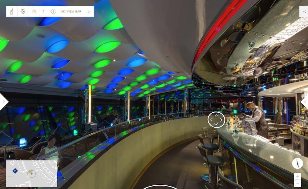 Burj al Arab tour virtual
