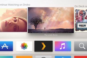 Aplicación Plex para Apple TV