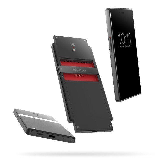 PuzzlePhone un smartphone a lo Project Ara