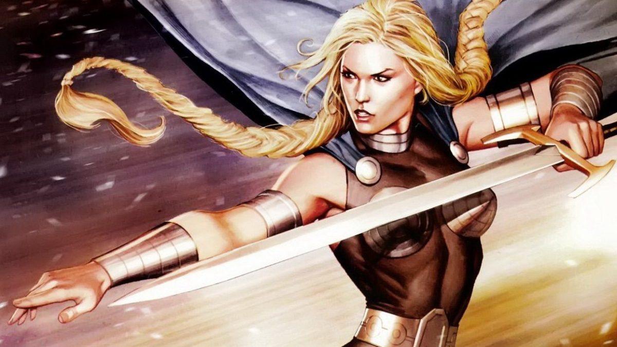 """""""Valkyrie"""" por Marvel Comics"""