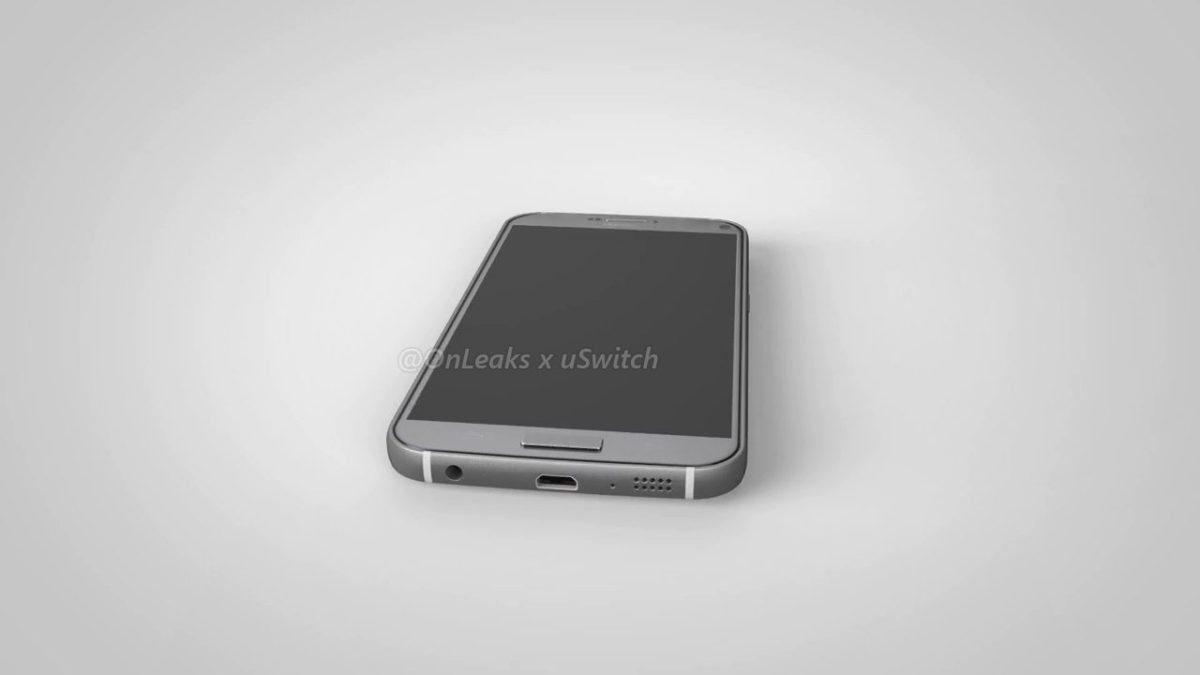 Render del alegado Galaxy S7