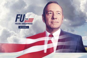 Frank Underwood 2016 - Cuarta temporada de House of Cards