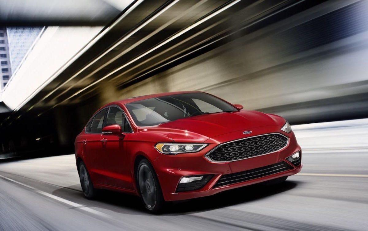 Ford Fusion 2016 - NAIAS