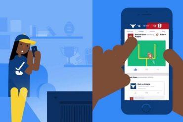 Facebook Sports Stadium para iPhone