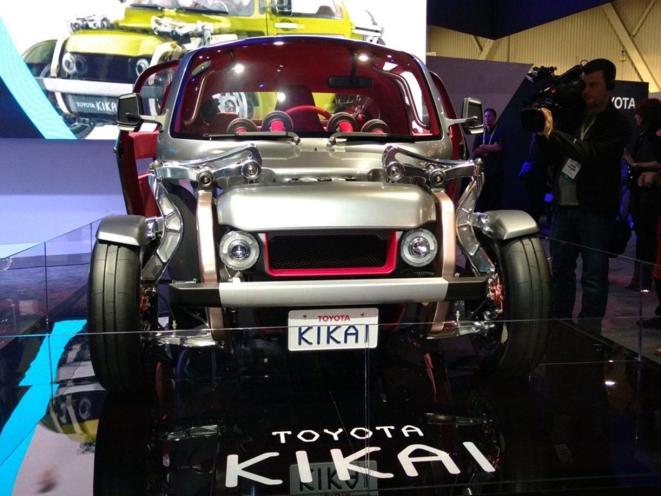 Toyota Kikai CES 2016