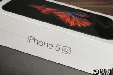 iPhone 5SE fake
