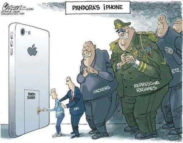 FBI solicita a Apple crear un backdoor en iOS