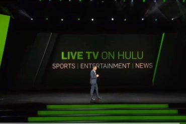 Programas televisión en vivo por Hulu