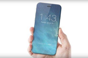 iPhone 7s todo en cristal concepto
