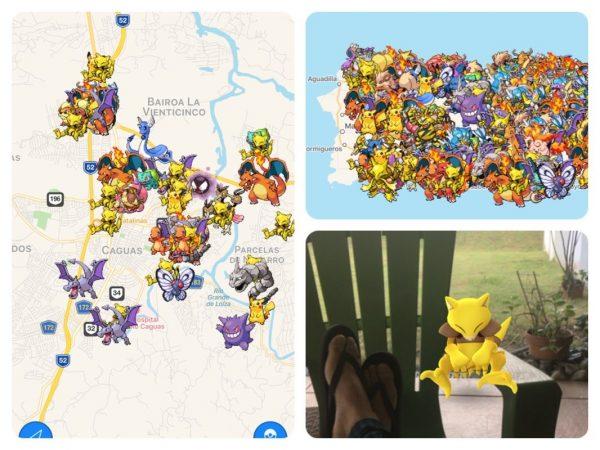 Encontrar Pokémon Go en Puerto Rico con Poké Radar