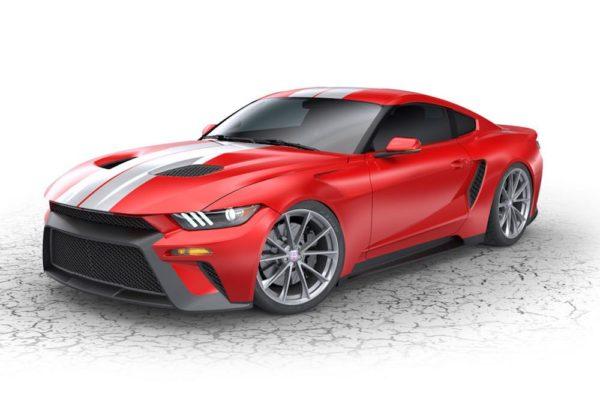 Ford GTT mitad Mustang mitad Ford GT