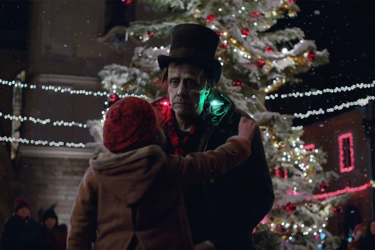 Apple Frankenstein anuncio navidad