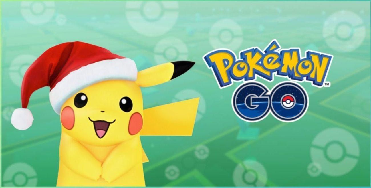 Santa Pikachu Pokémon GO