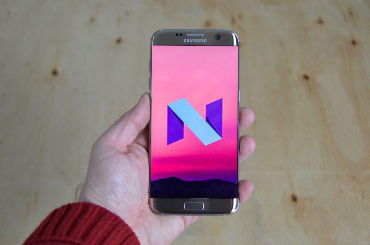 Actualización Android 7.1.1 Nougat Galaxy S7 Samsung