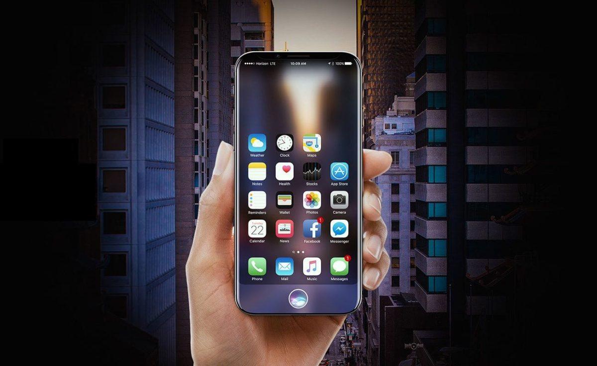 Concepto iPhone 8 de Apple