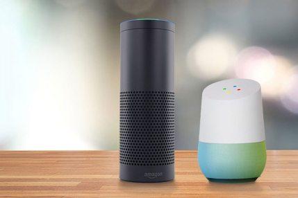 Amazon Echo y Google Home.