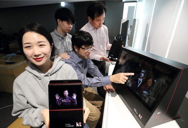 hologramas llamadas en tiempo real
