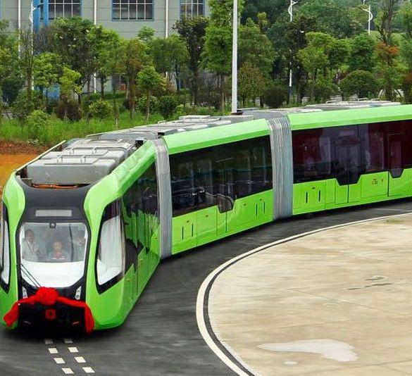 China tren autónomo