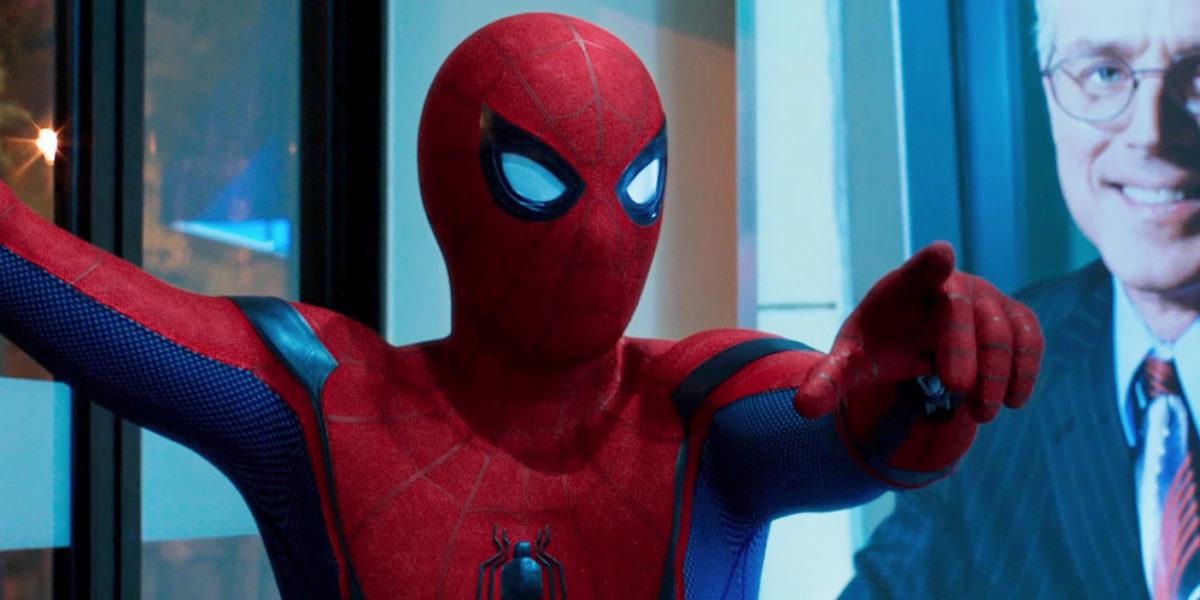 Tom Holland como Spider Man en Homecoming