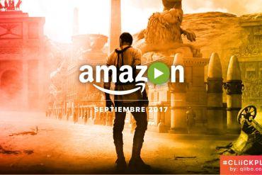 Amazon Prime Video Septiembre