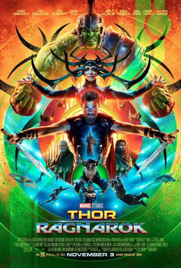 Póster Thor: Ragnarok