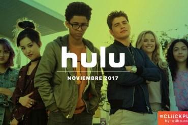 Nuevo en Hulu noviembre