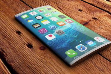 Concepto iPhone flexible