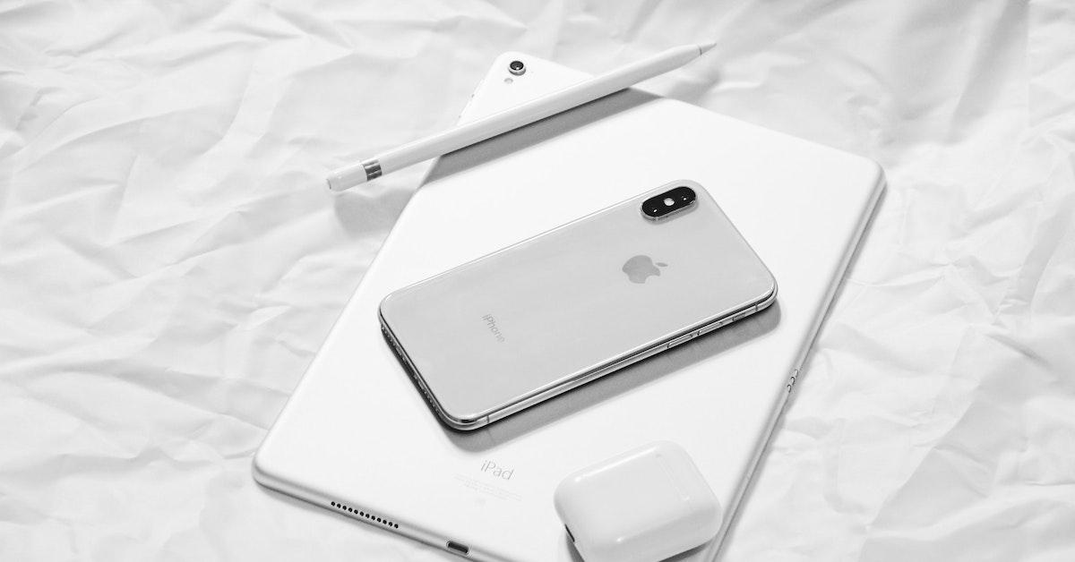 iPhone X Apple Pencil
