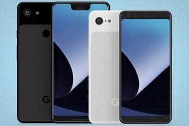 Google Pixel 3 y Pixel 3 XL render