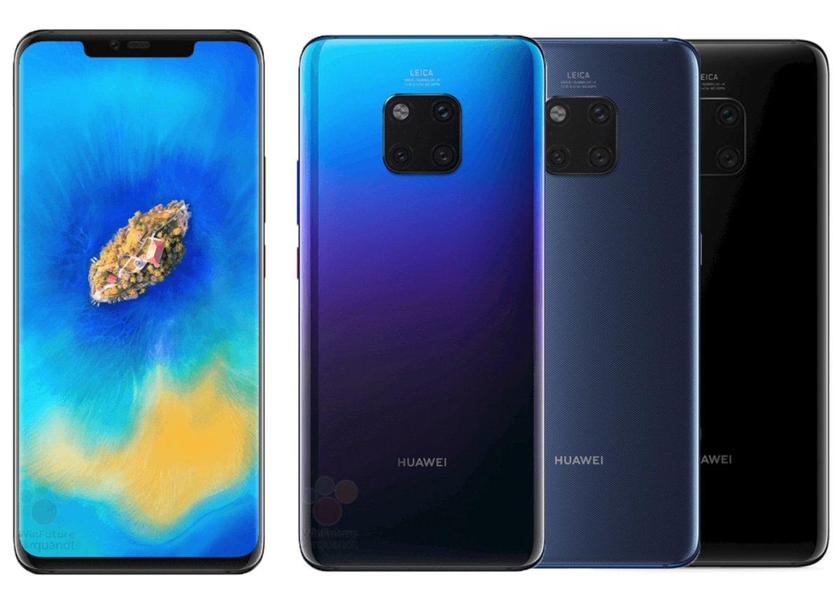 Huawei Mate 20 Pro y Huawei Mate 20Huawei Mate 20 Pro y Huawei Mate 20