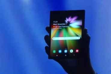 Teléfono plegable Samsung Flex Infinity Galaxy F