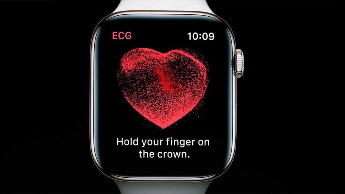 electrocardiogramas apple watch series 4