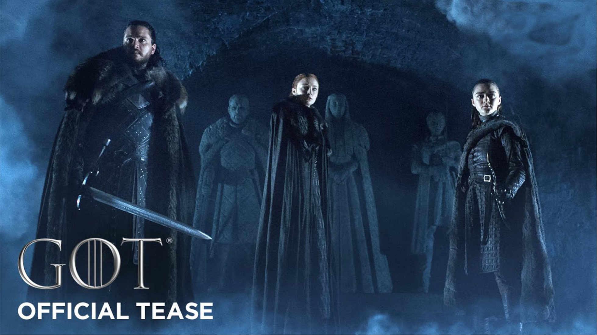 Trailer Game of Thrones octava temporada