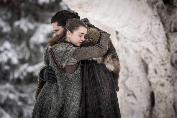 Jon y Arya - Resumen Game of Thrones: Winter is Here (S0801)