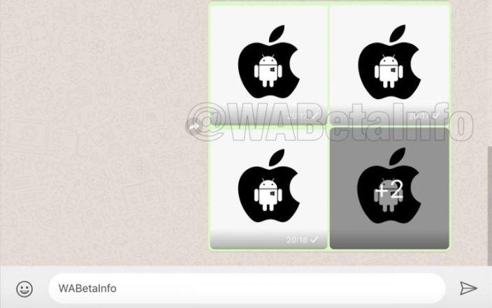 Galería fotos WhatsApp Web