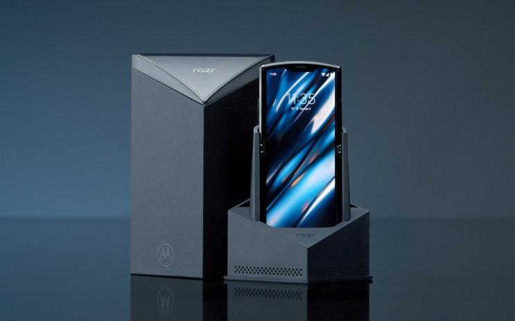 Motorola Razr plegable