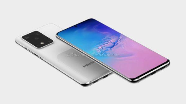 Render Samsung Galaxy S11+