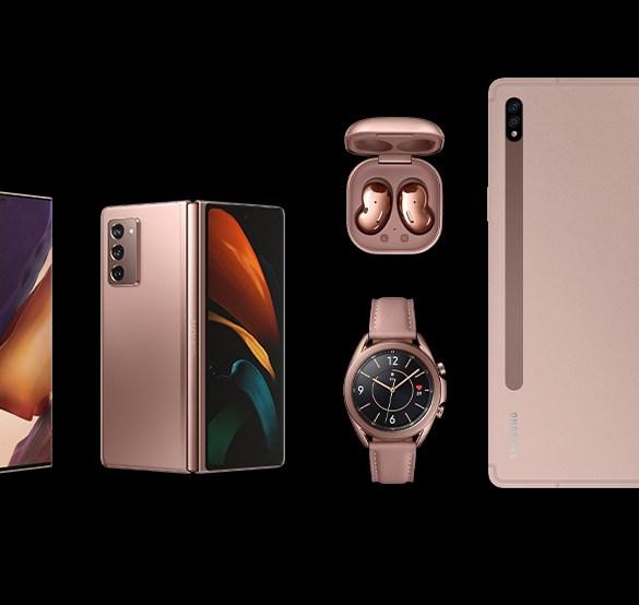Samsung Galaxy Note 20 Galaxy Z Fold2 Galaxy Watch3