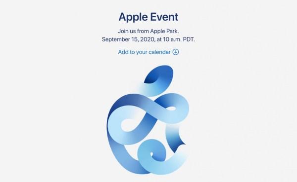 Apple Event septiembre 2020