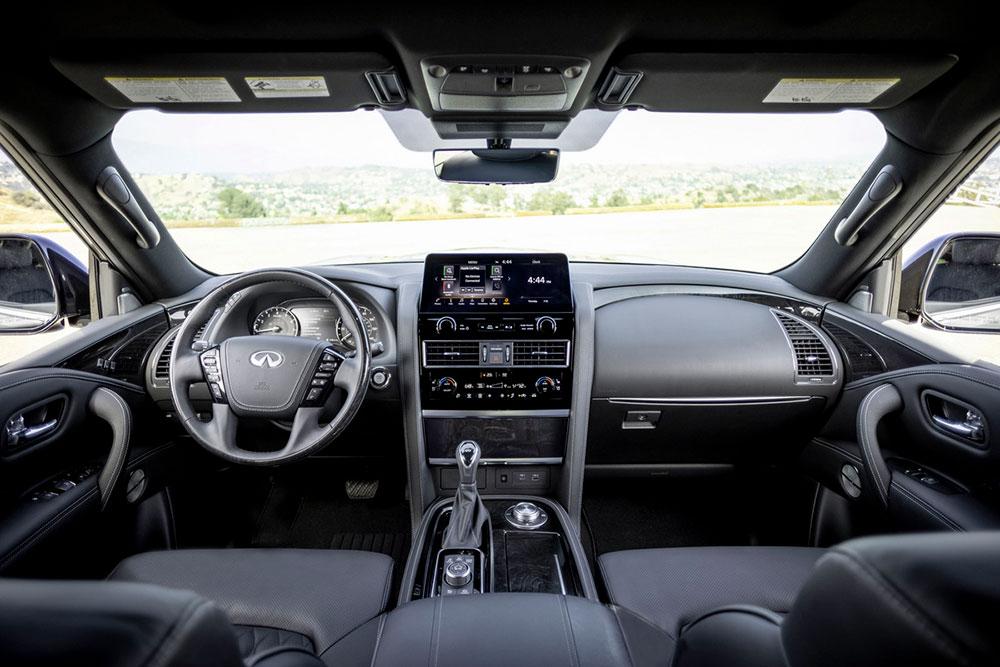 interior Infiniti QX80 2022