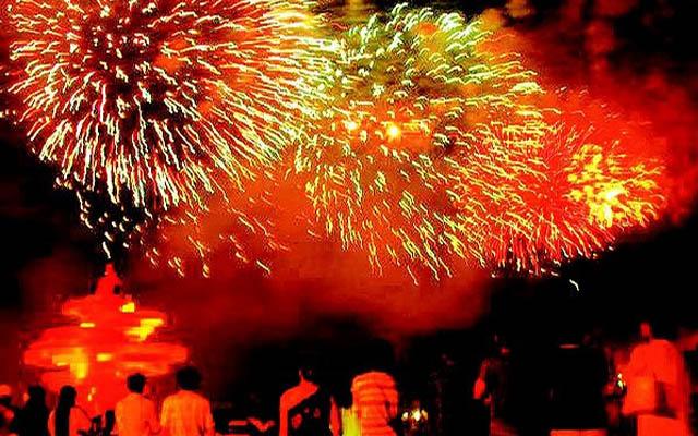 Qingdao New Year Fireworks