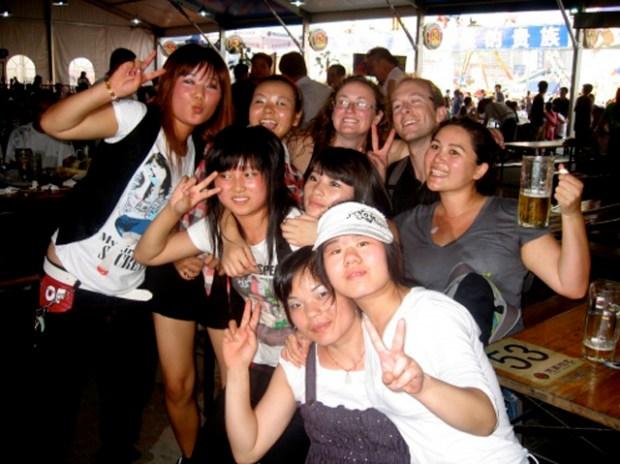 Qingdao Beer Festival Group Photo