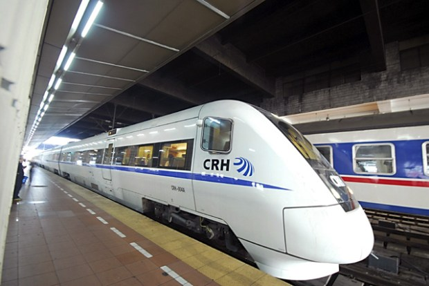 CRH1 Trains in Qingdao China