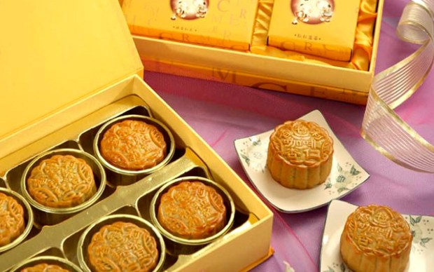 Chinese Mooncakes for the Mid-Autumn Festival