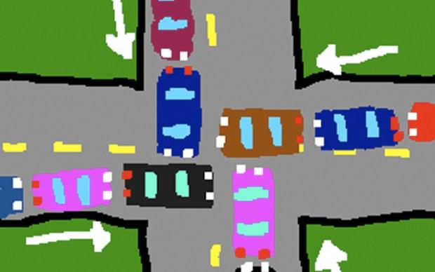 Qingdao Character 2010 Traffic Jam Diagram
