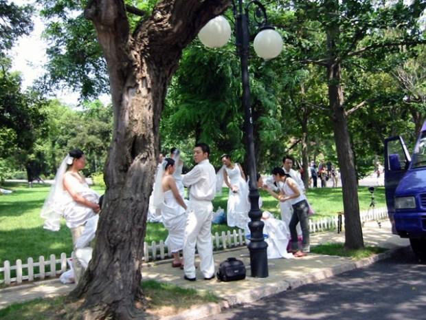 Qingdao Photos Wedding Couples Badaguan