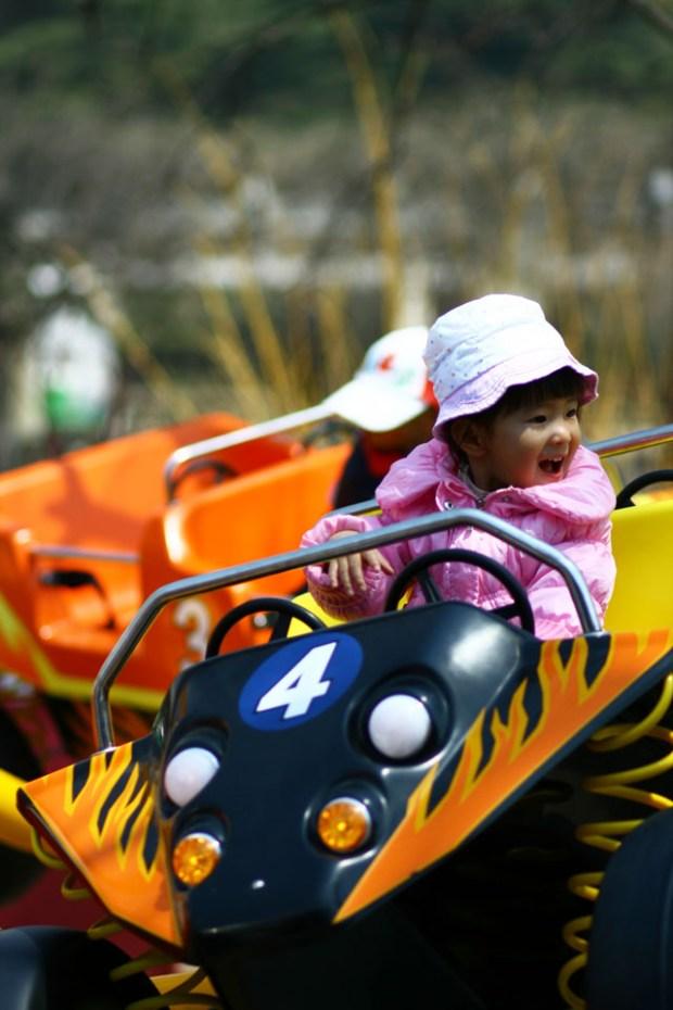 Zhongshan Park Amusement Park Rides