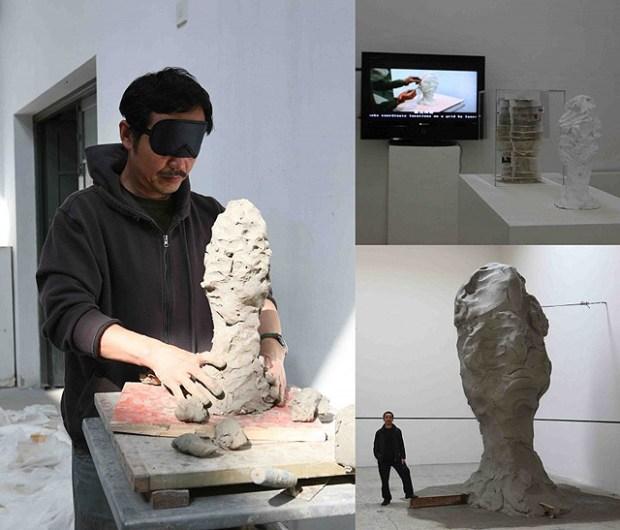 Qingdao Artist Sui Jianguo Blind Sculpture