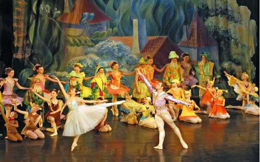 Ukraine Children's Ballet Snow White Qingdao