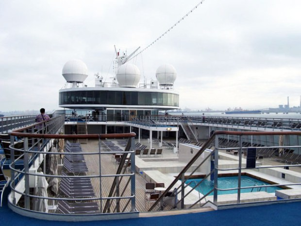 Cruise Out Of Qingdao Deck